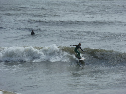 Bournemouth surfer